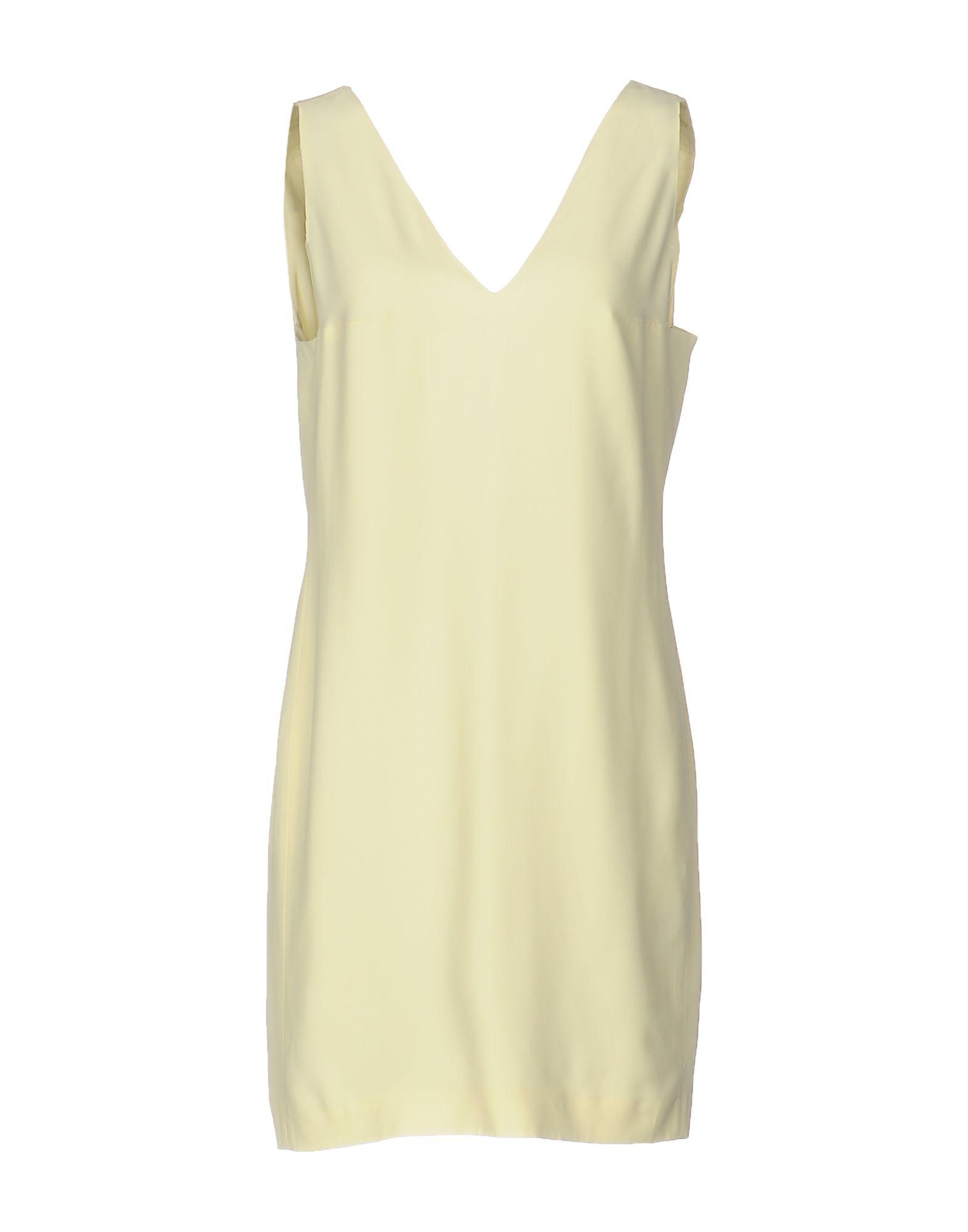 DONDUP Короткое платье makoday шерстяное платье футляр