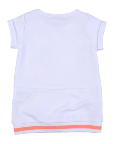 PATRIZIA PEPE Baby Kleid Weiß Größe 6 95% Baumwolle 5% Elastan