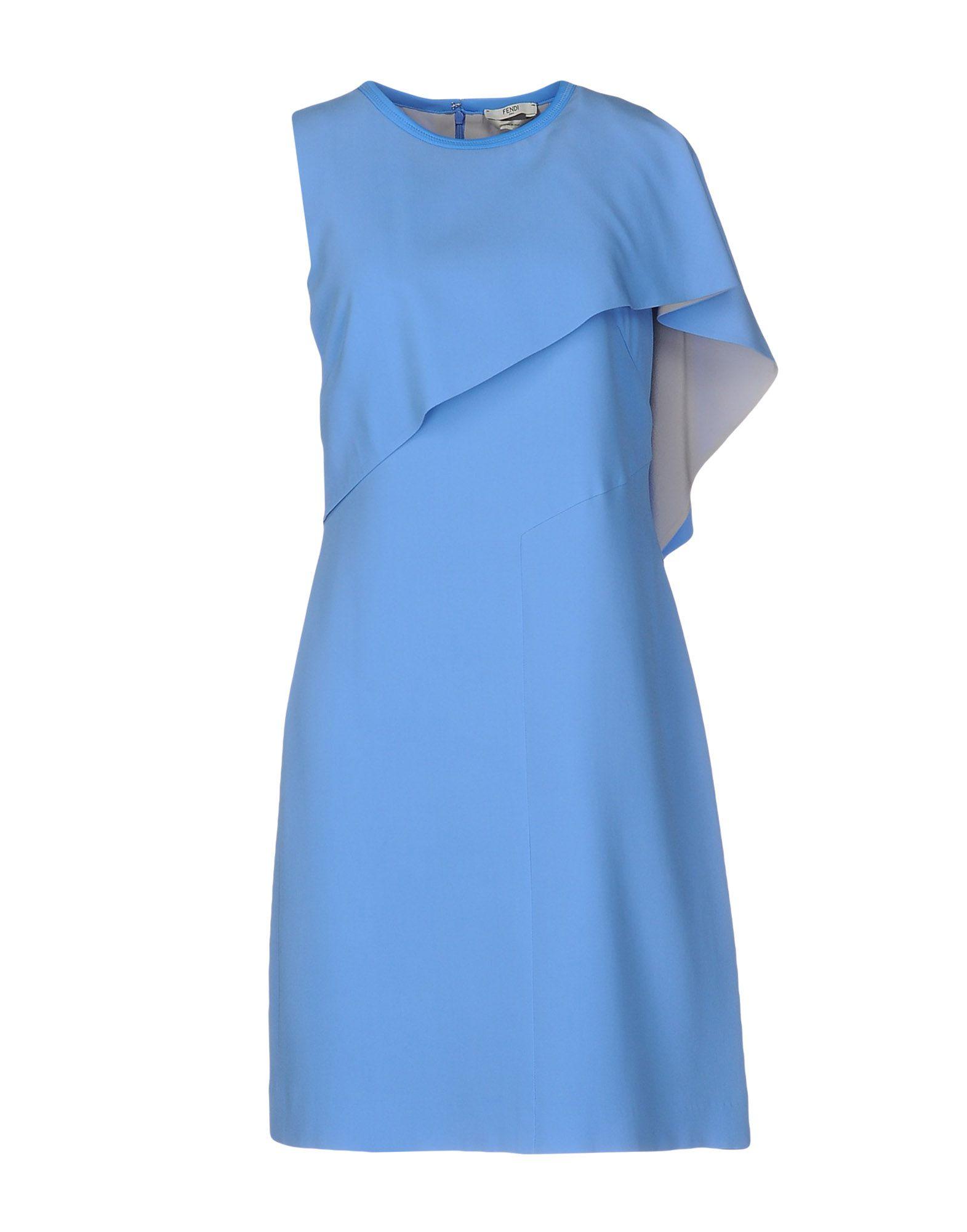 FENDI Короткое платье costume national homme футболка