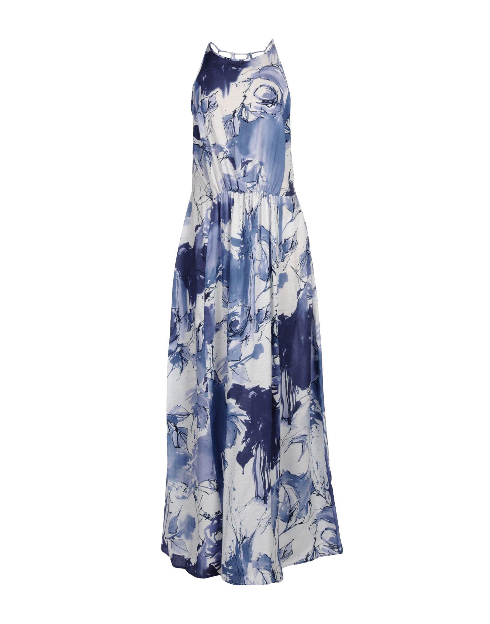 цены на TRUSSARDI JEANS Длинное платье в интернет-магазинах