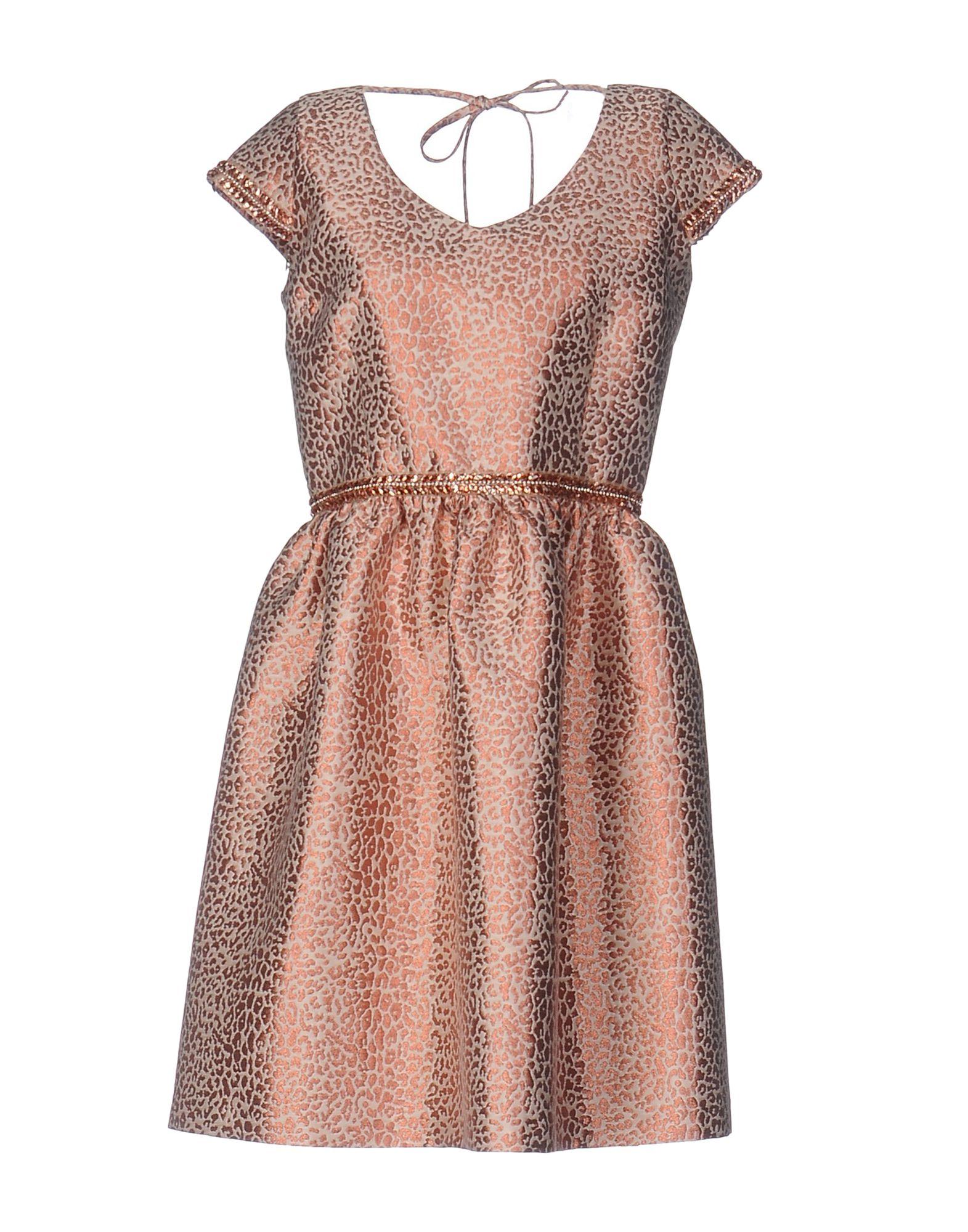 цена MÁSS by MATILDE CANO Короткое платье онлайн в 2017 году