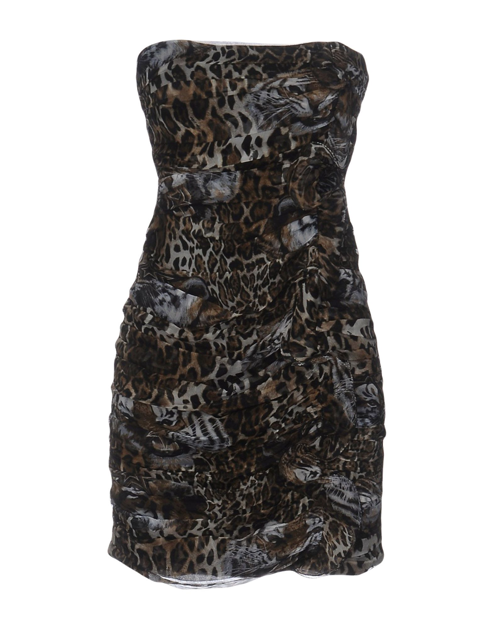 PHILIPP PLEIN Короткое платье футболка via montenapoleone philipp plein
