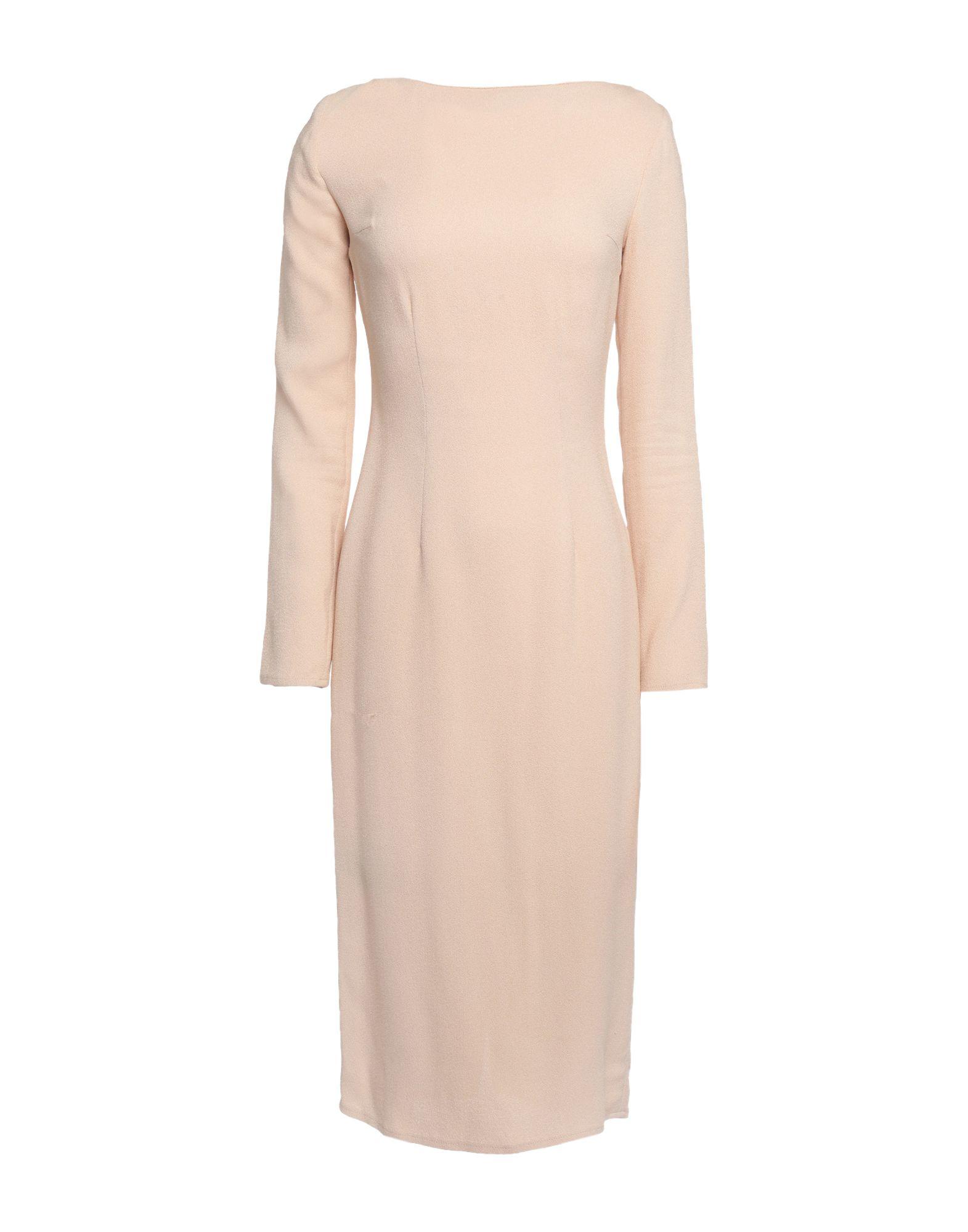 PASSEPARTOUT DRESS by ELISABETTA FRANCHI CELYN b. Платье длиной 3/4 round neck 3 4 sleeve full lace bodycon wedding dress
