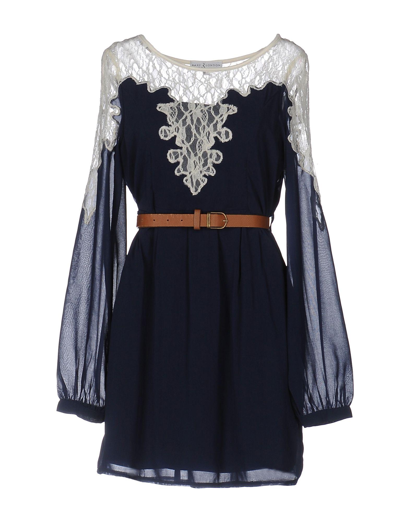 RARE LONDON Короткое платье