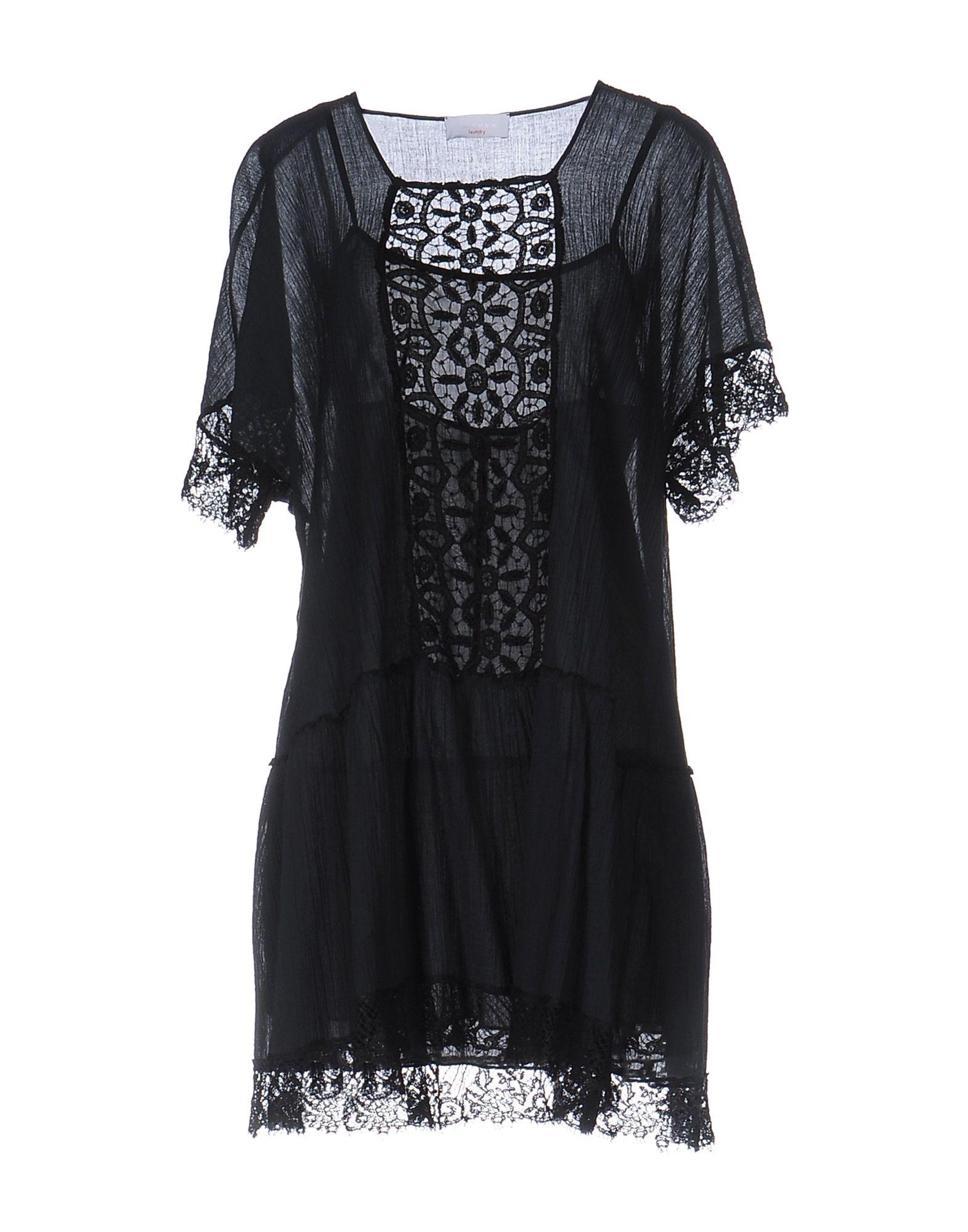 P.A.R.O.S.H. Короткое платье anais gillian комбинация