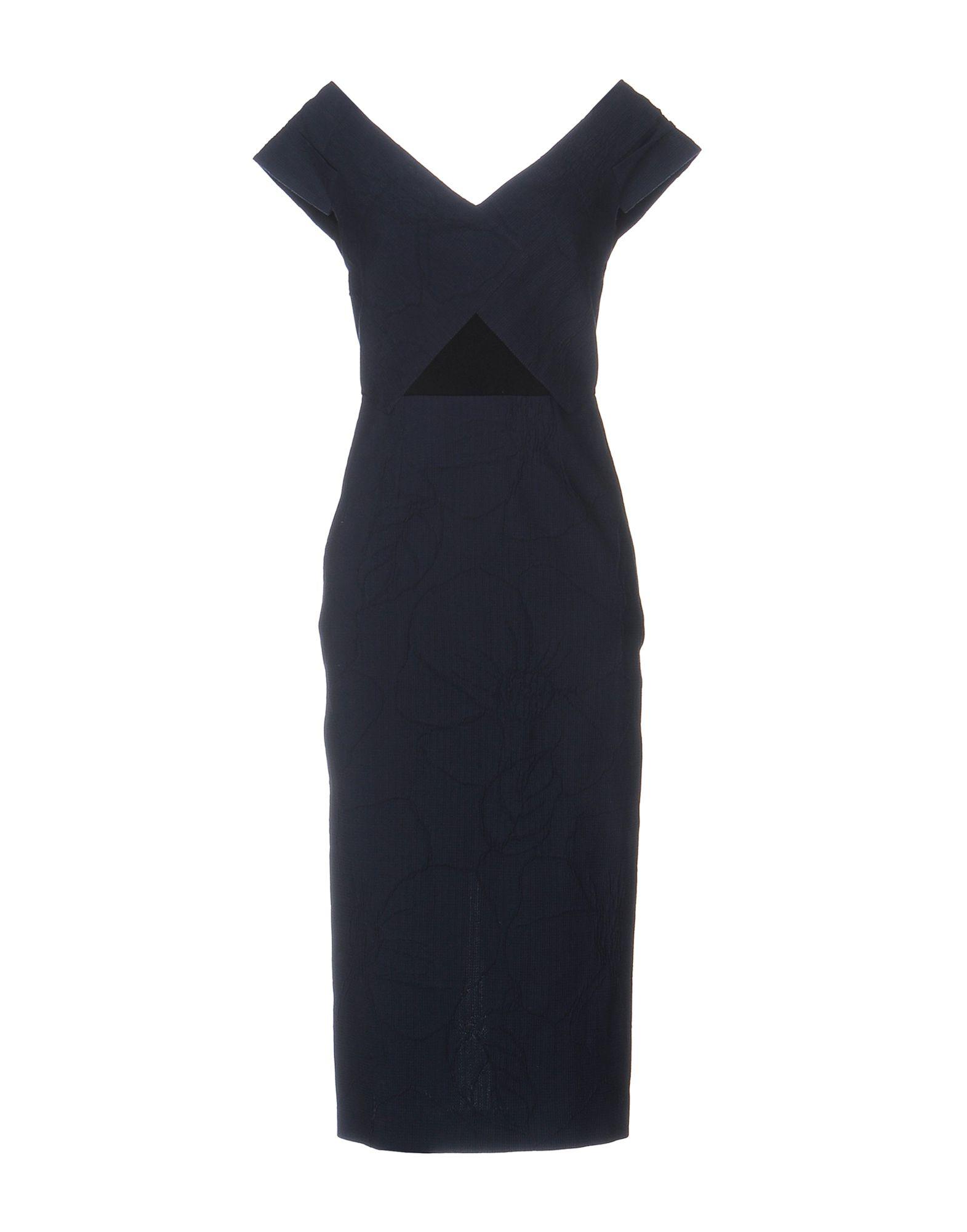 ROLAND MOURET Платье до колена roland mouret платье футляр бирюзового цвета
