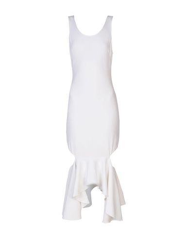 Фото - Платье до колена цвет слоновая кость