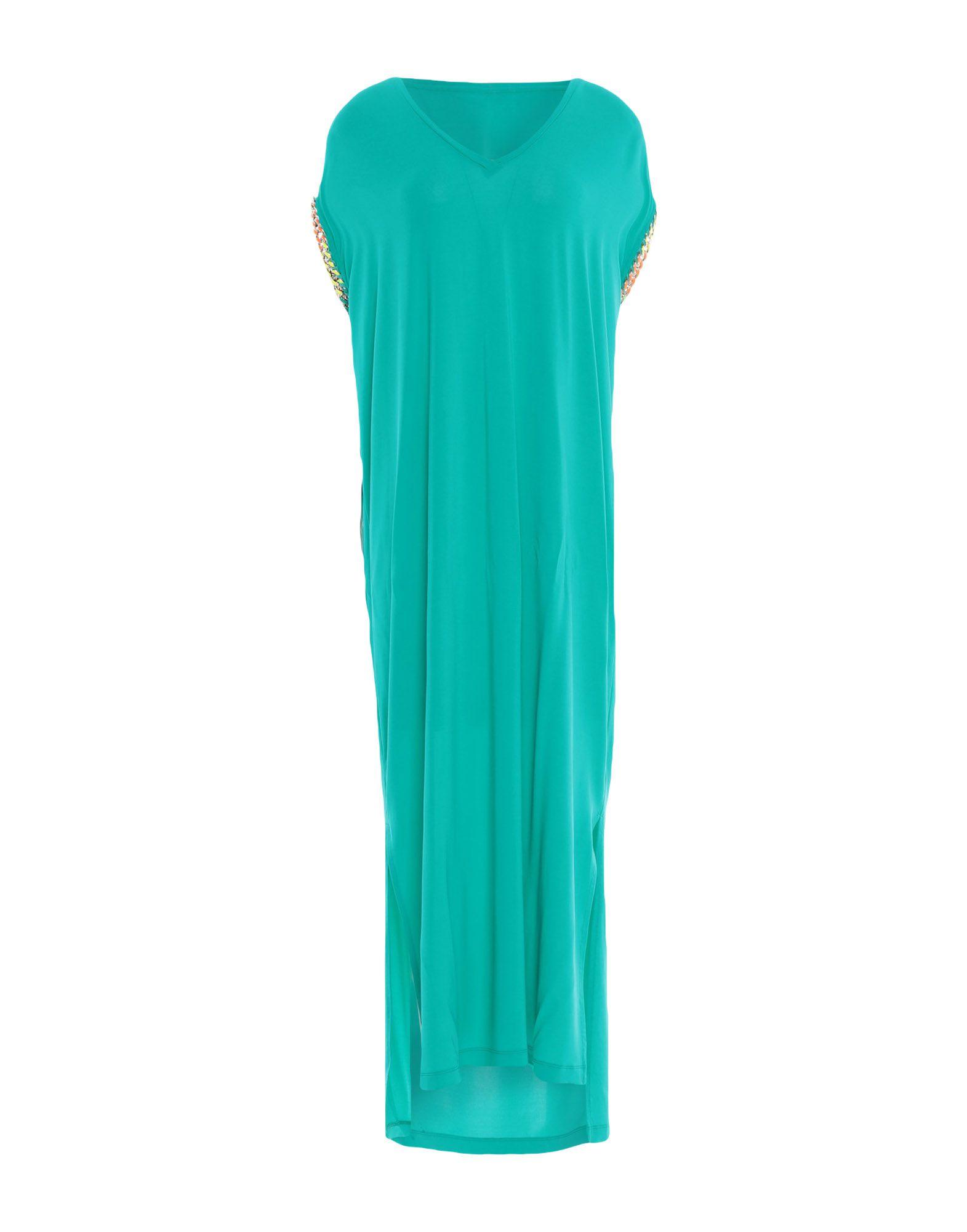 22 MAGGIO by MARIA GRAZIA SEVERI Платье длиной 3/4 свободное платье с гипюром 22 maggio