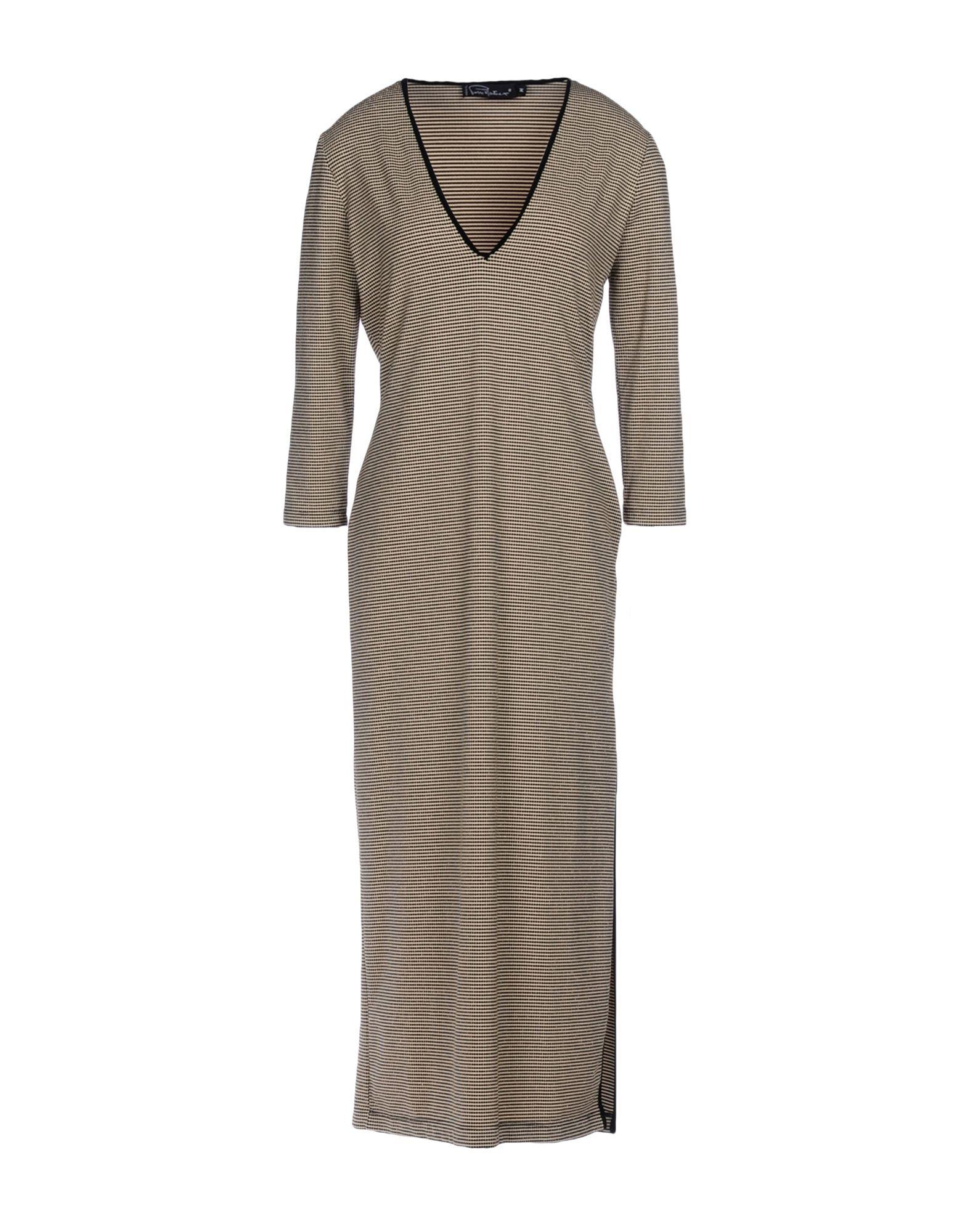 PIERRE MANTOUX Платье длиной 3/4 pierre mantoux платье до колена