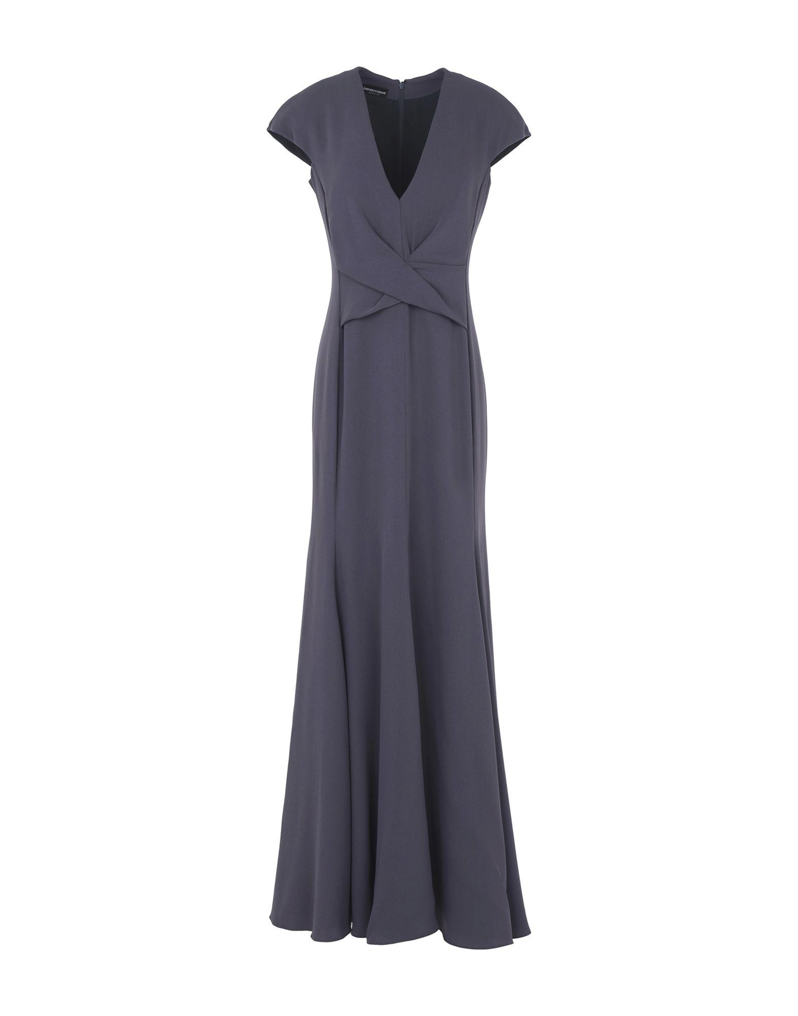 EMPORIO ARMANI Длинное платье цены онлайн