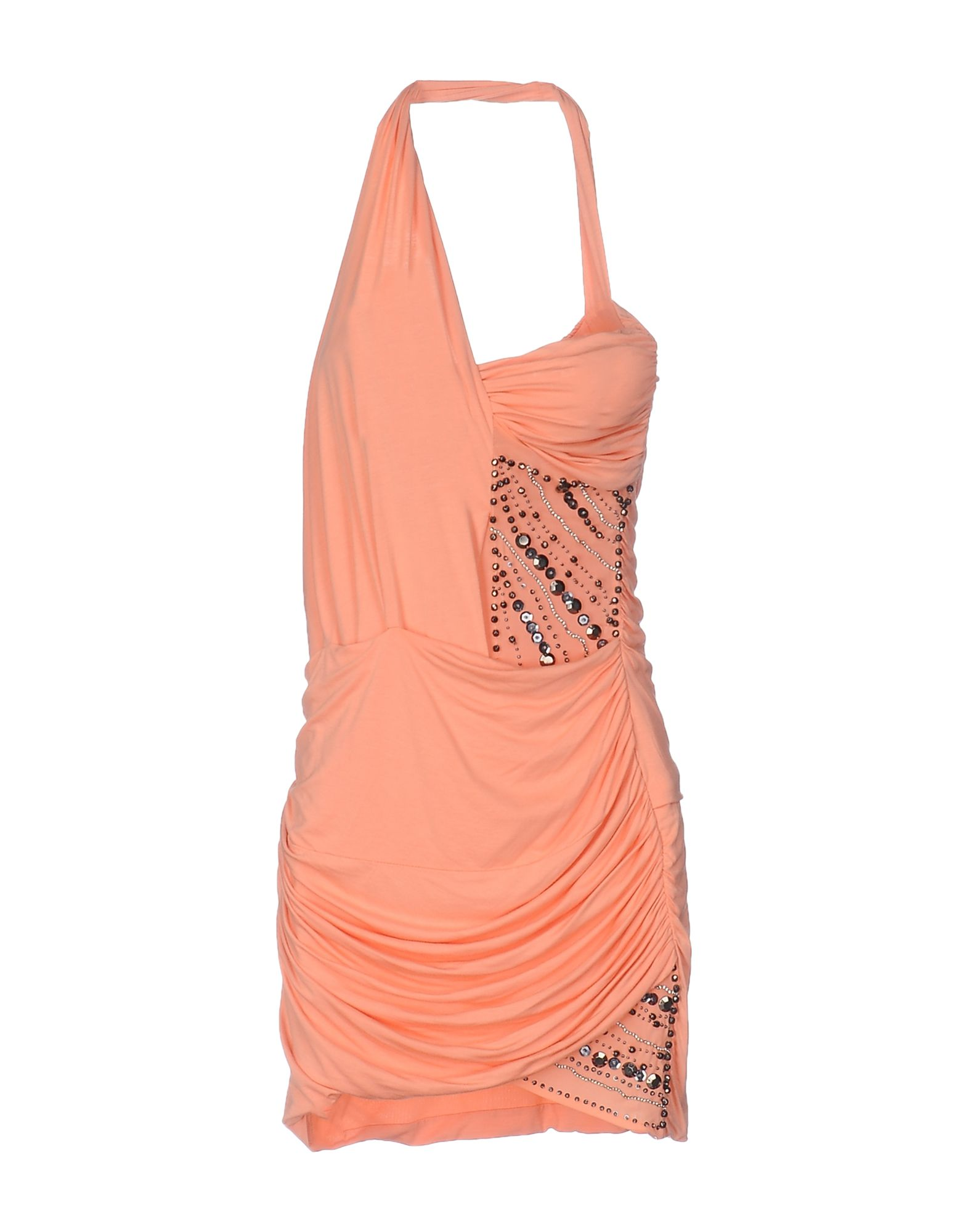 MET MIAMI COCKTAIL Damen Kurzes Kleid Farbe Lachs Größe 5