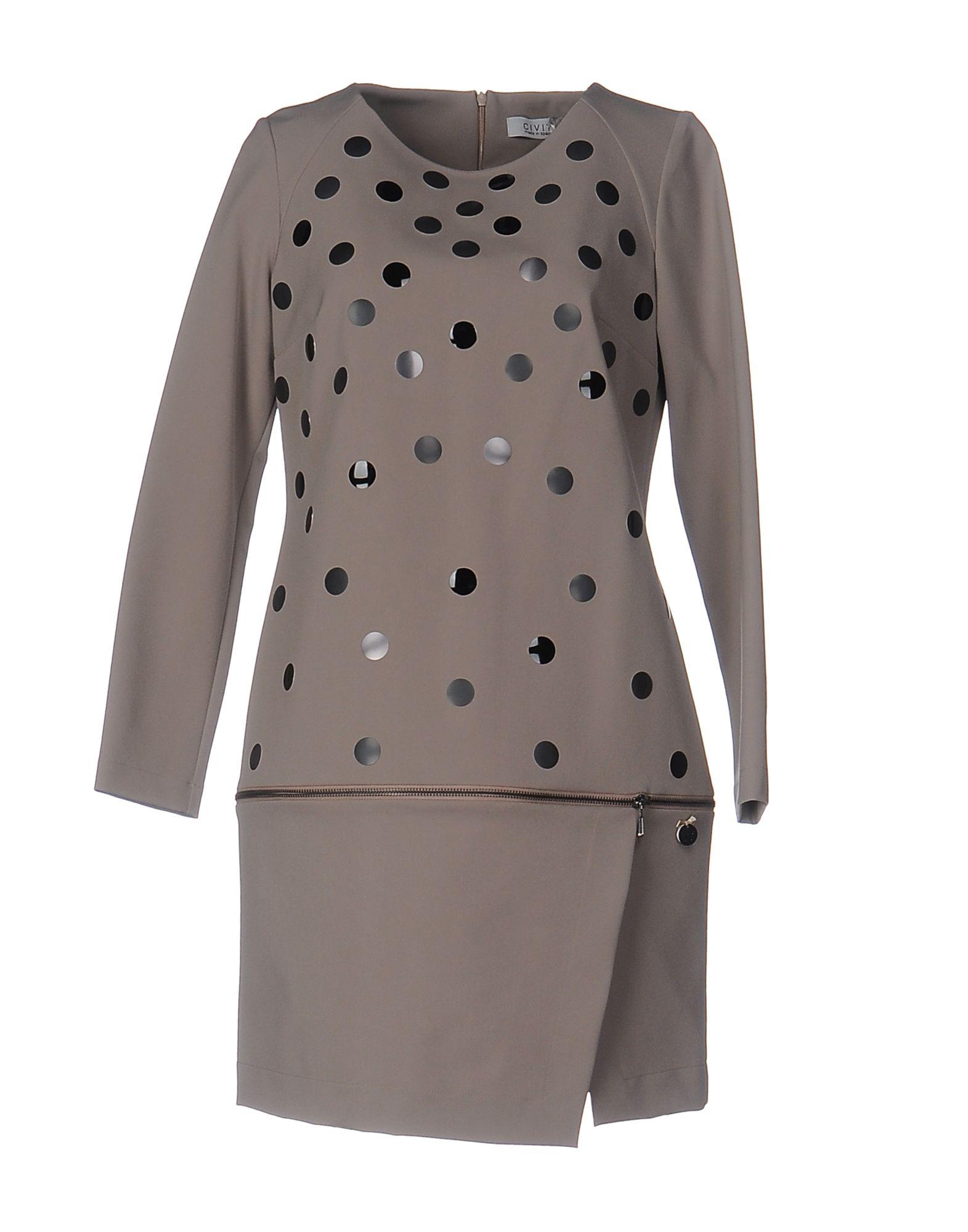 Фото CIVIT Короткое платье. Купить с доставкой