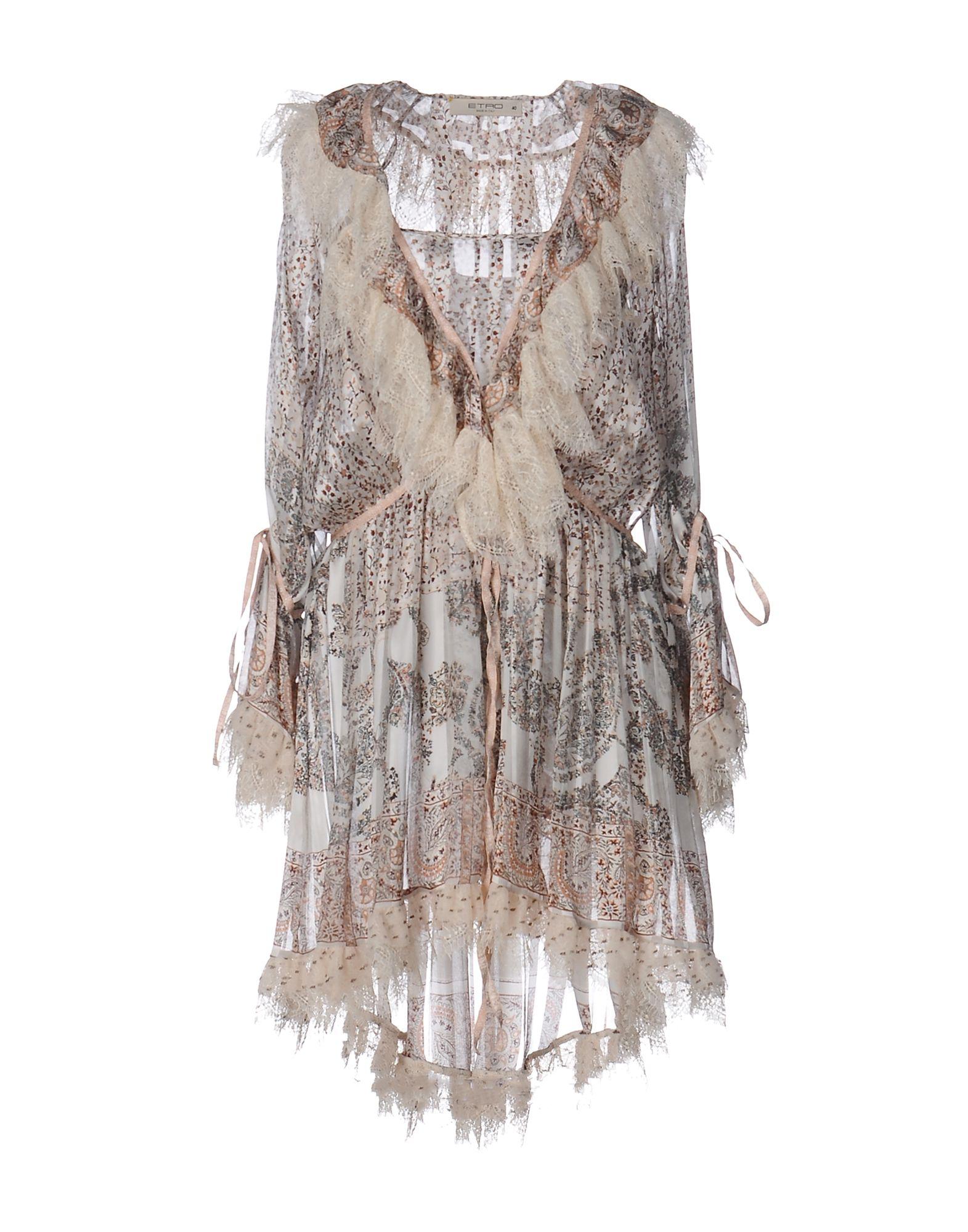 ETRO Короткое платье недорго, оригинальная цена