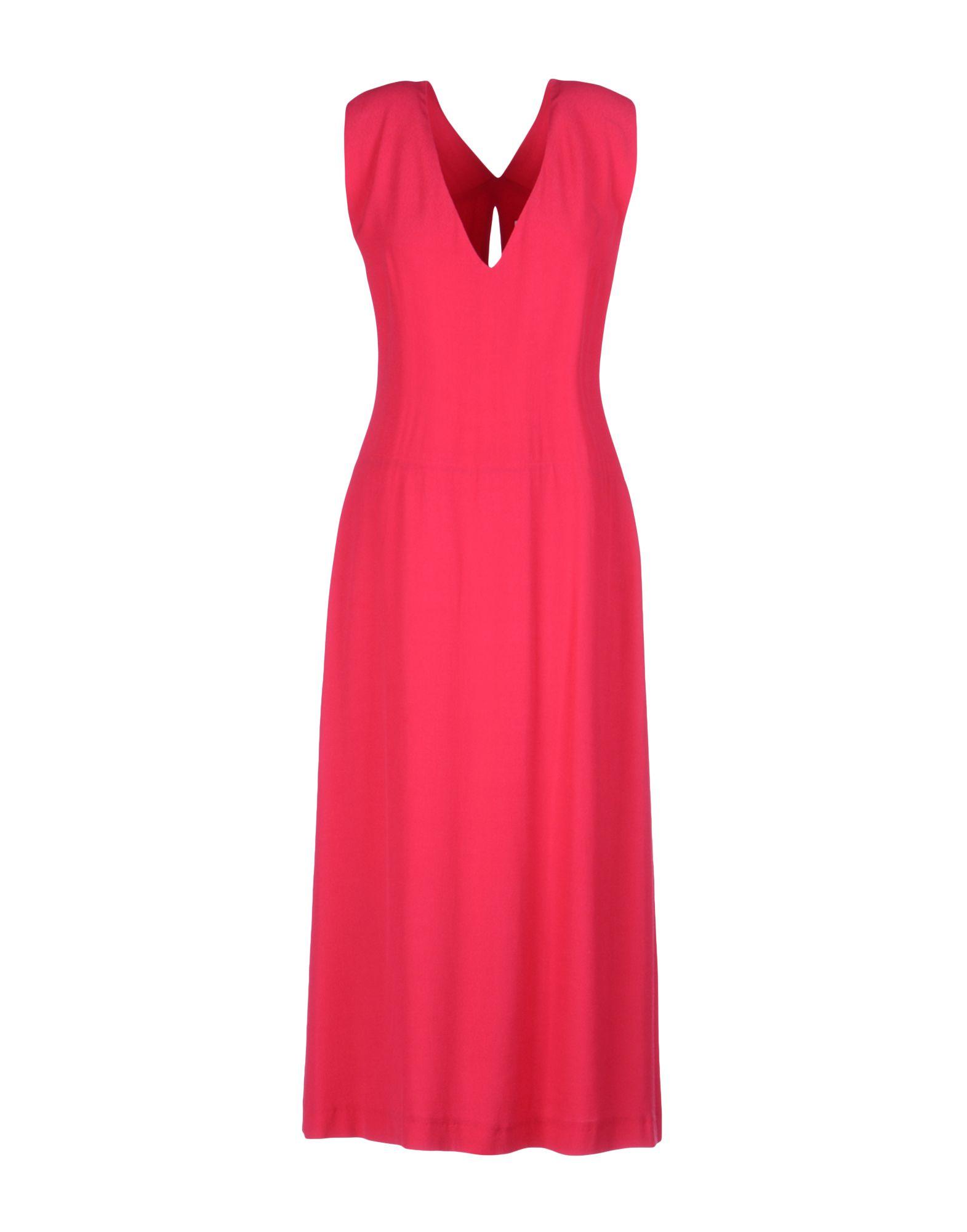 ATTIC AND BARN Damen Knielanges Kleid Farbe Fuchsia Größe 4