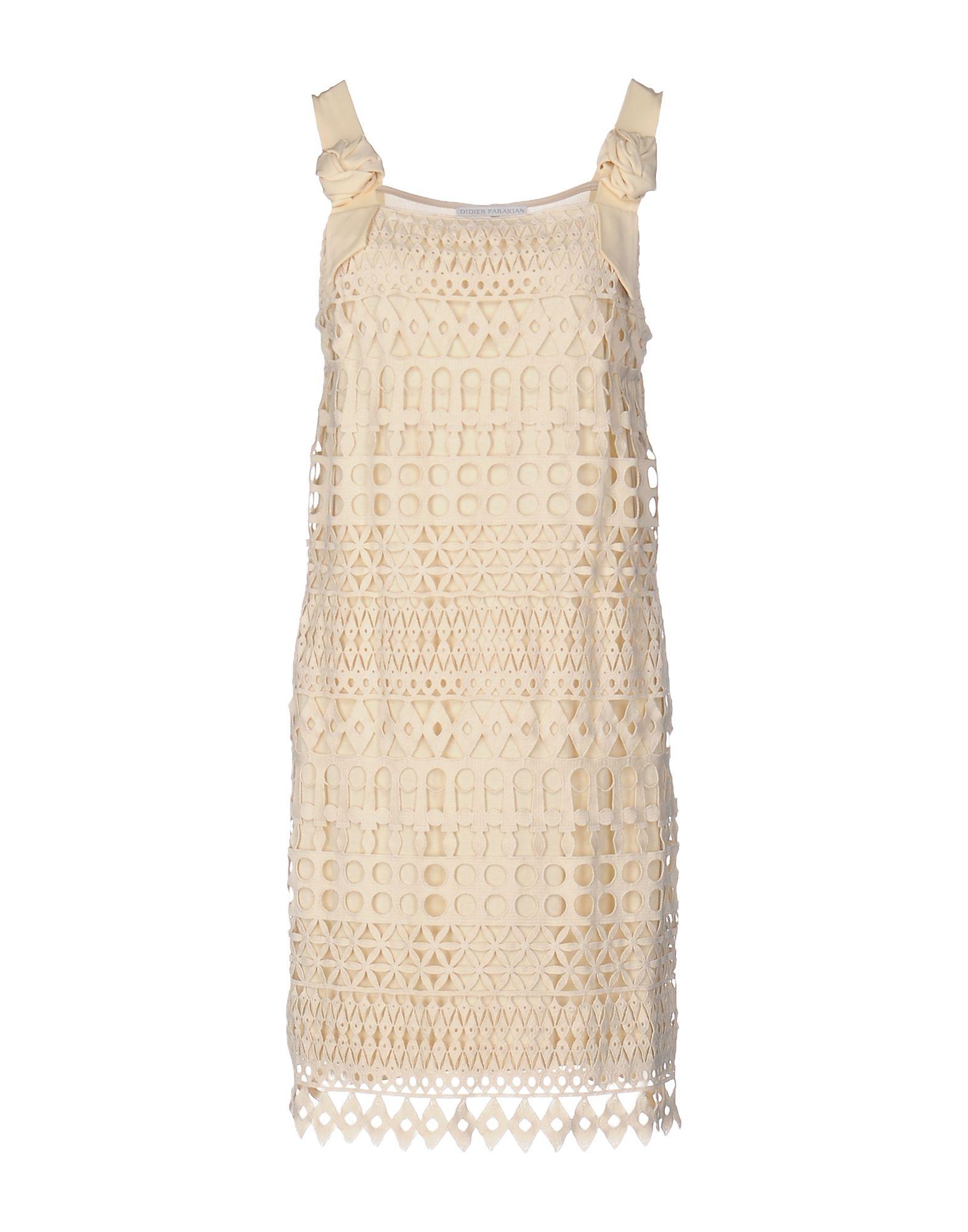 DIDIER PARAKIAN Короткое платье