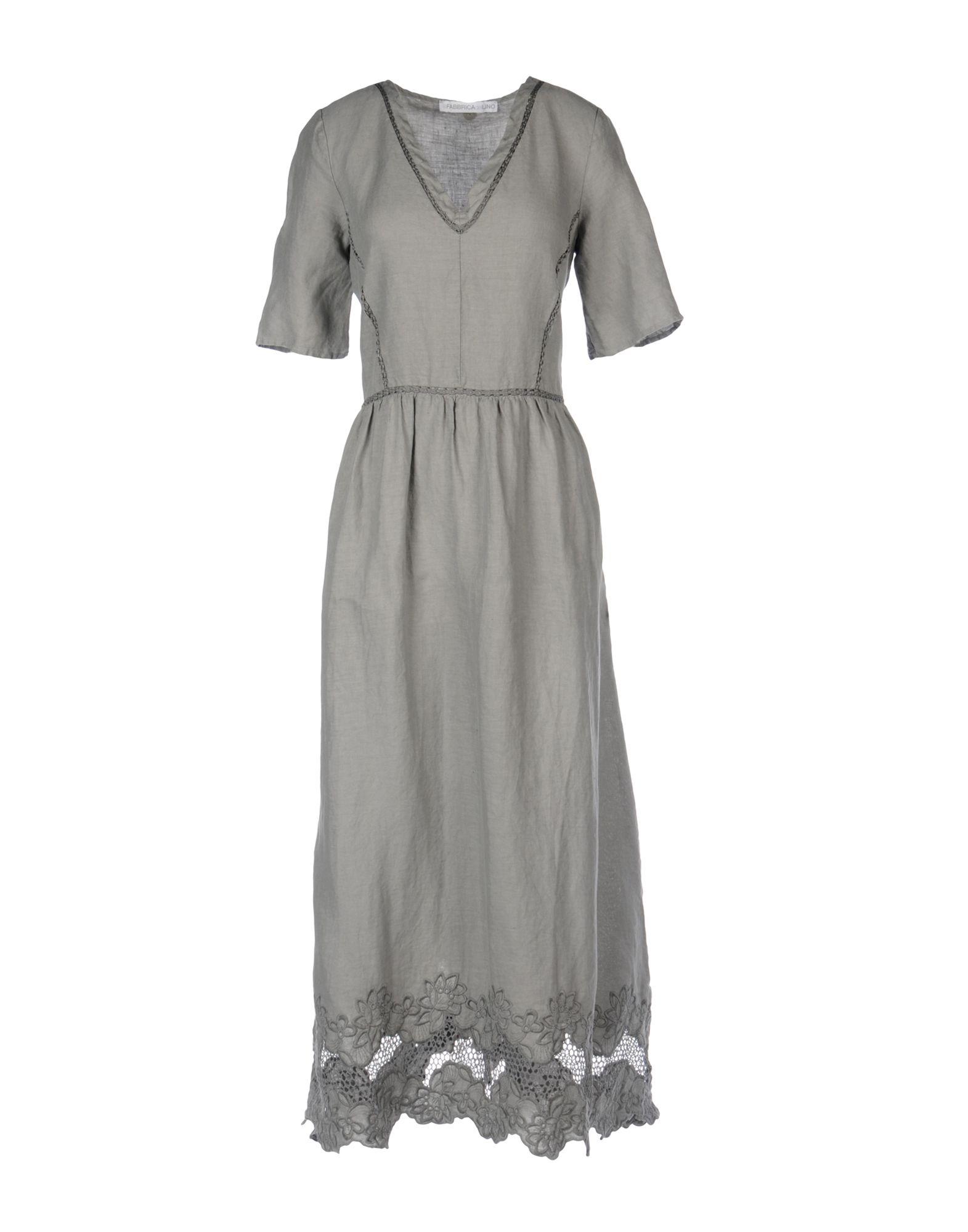 LA FABBRICA del LINO Длинное платье декор la fabbrica smart leaves ebony 48x48