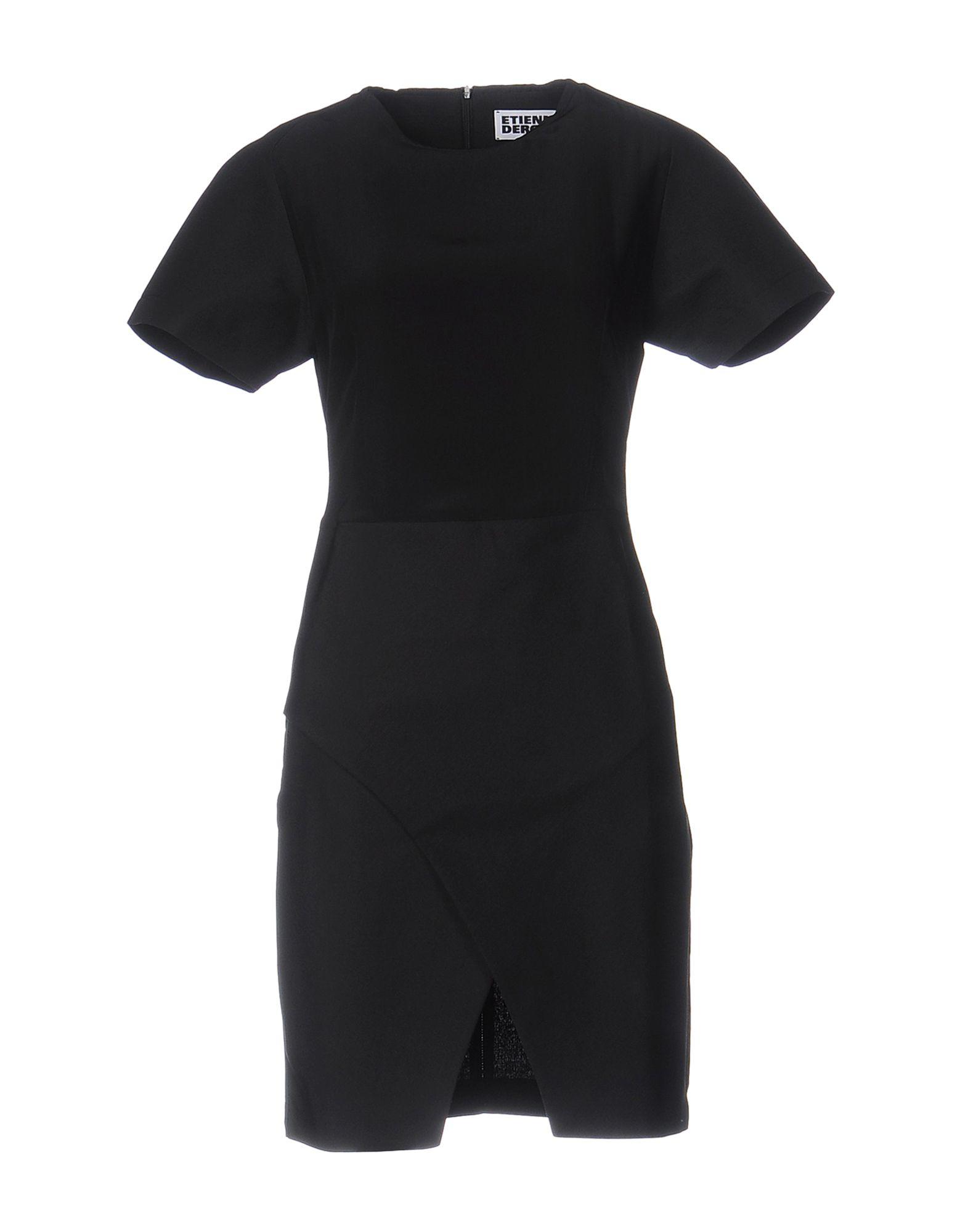 ETIENNE DEROEUX Короткое платье asse saint etienne as monaco