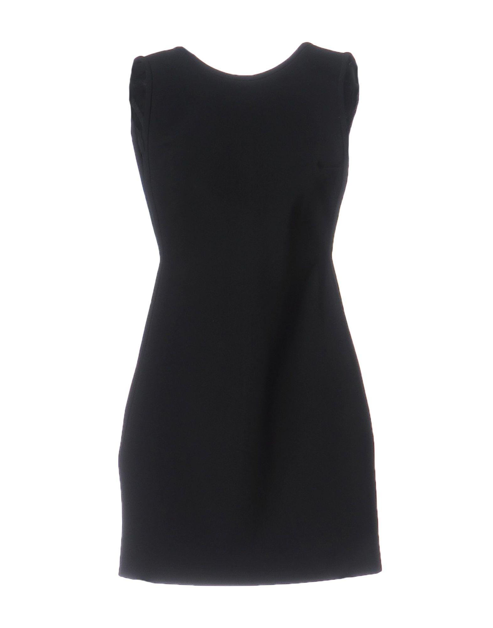 ANTHONY VACCARELLO NOIR Короткое платье недорго, оригинальная цена