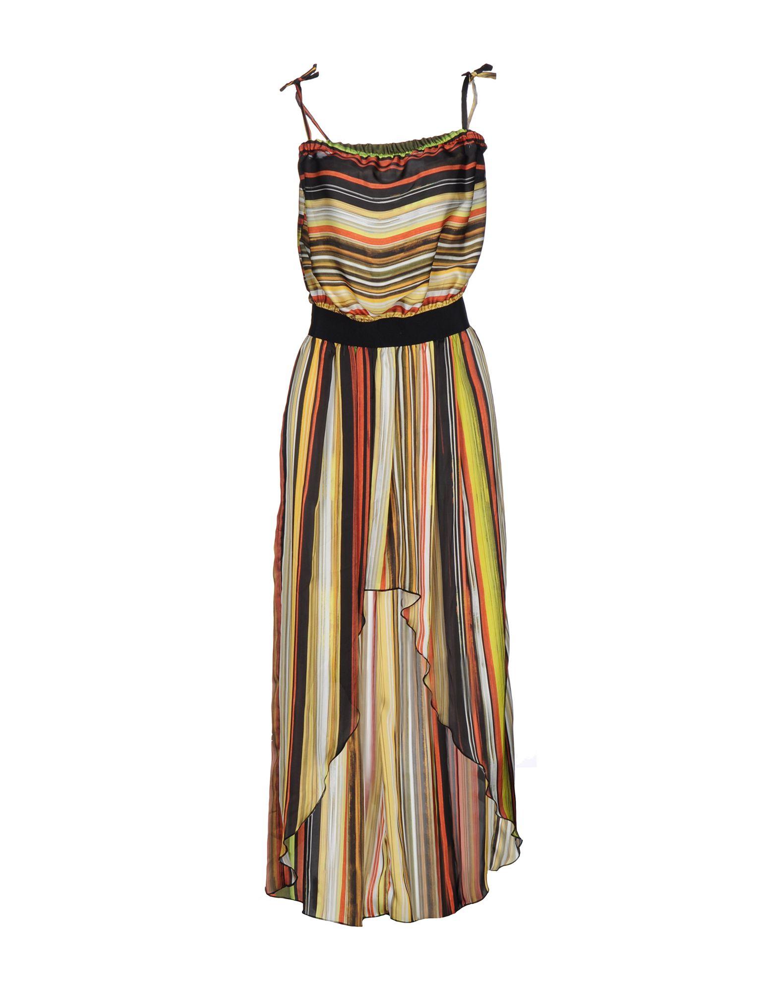 REBEKA ROSS Damen Kurzes Kleid Farbe Gelb Größe 5