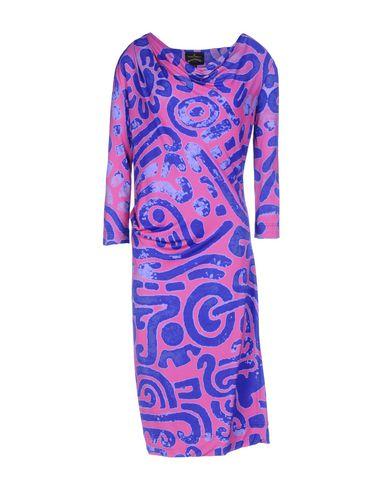 Платье до колена VIVIENNE WESTWOOD ANGLOMANIA 34698455BB