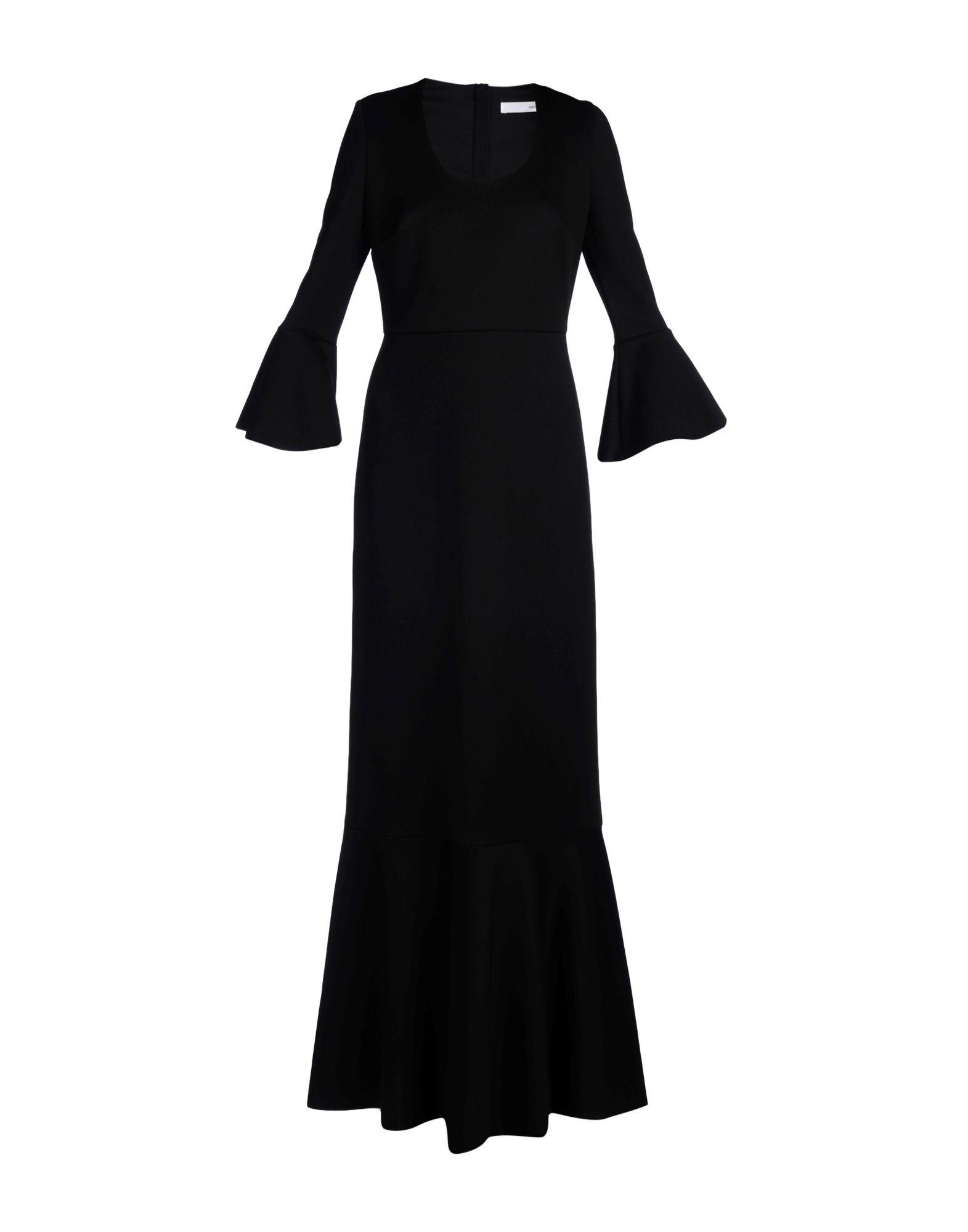 цена NORMALUISA Длинное платье онлайн в 2017 году