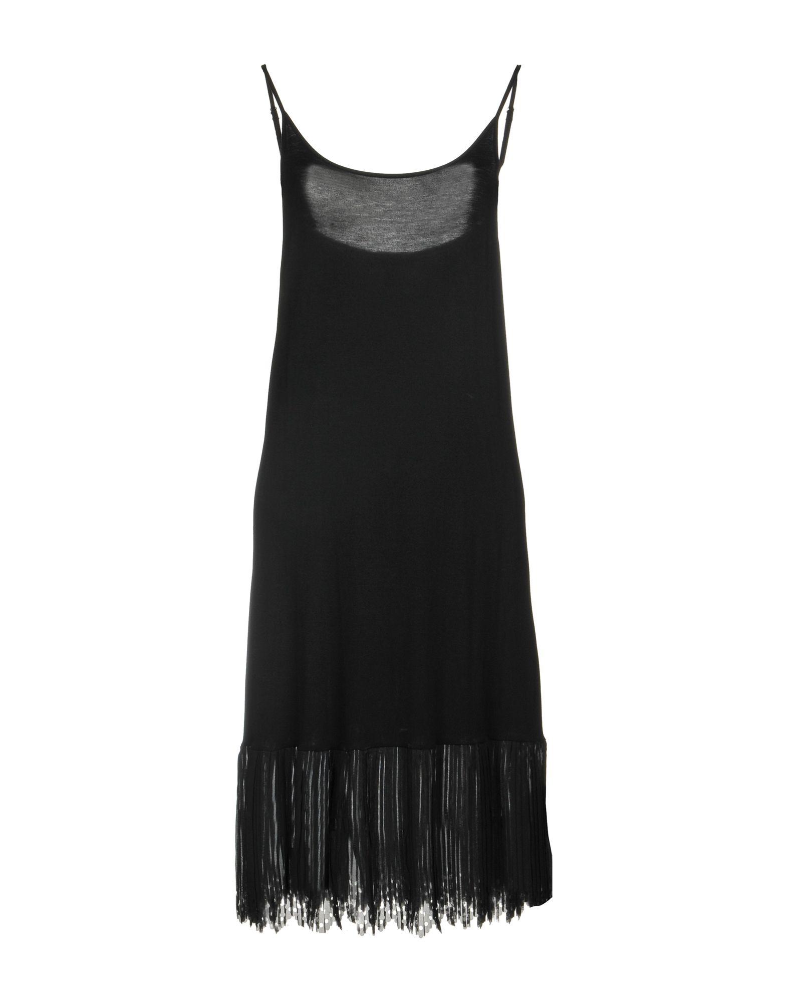 JUST FOR YOU Damen Kurzes Kleid Farbe Schwarz Größe 7