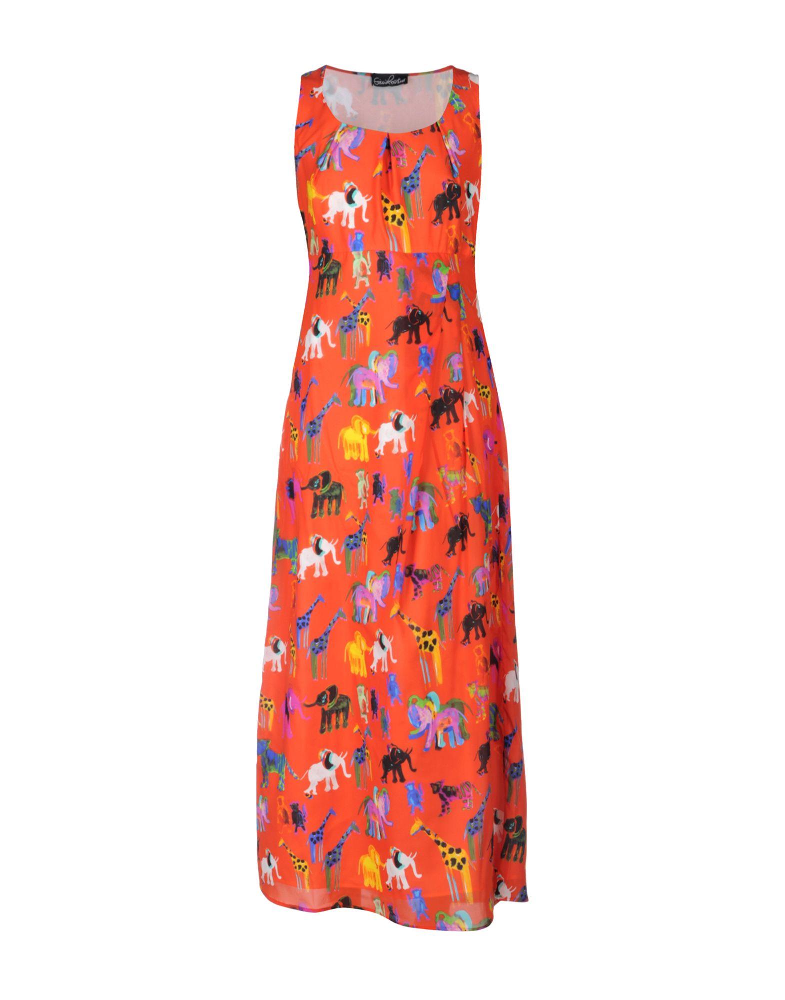 цена GIULIA ROSITANI Длинное платье онлайн в 2017 году