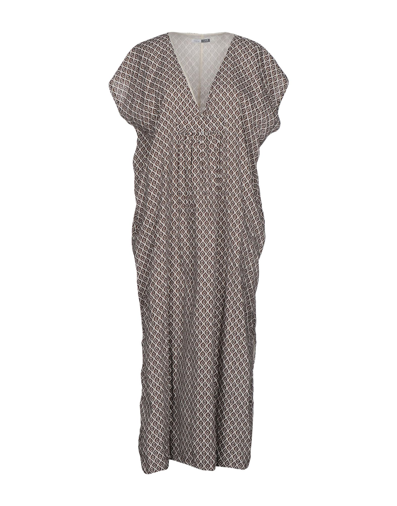 CUCÙ LAB Платье длиной 3/4 комплект постельного белья hobby home collection семейный сатин marsella черное