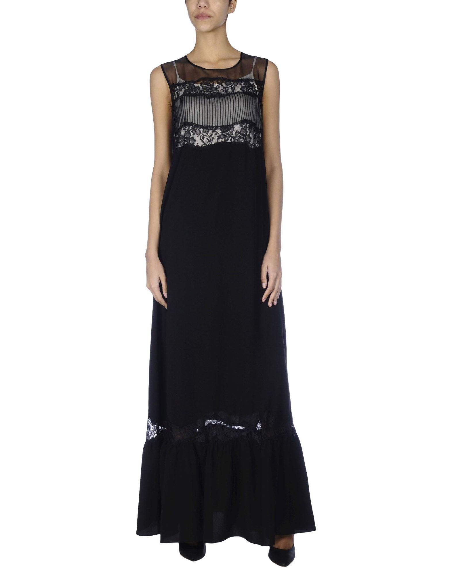 TWINSET Длинное платье lovaru ™новый 2015 мода новые печатные органза сладкий простой талии платье женщина casual платье