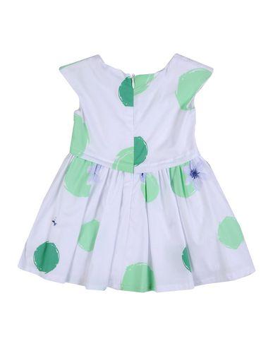 PATRIZIA PEPE Baby Kleid Weiß Größe 6 100% Baumwolle
