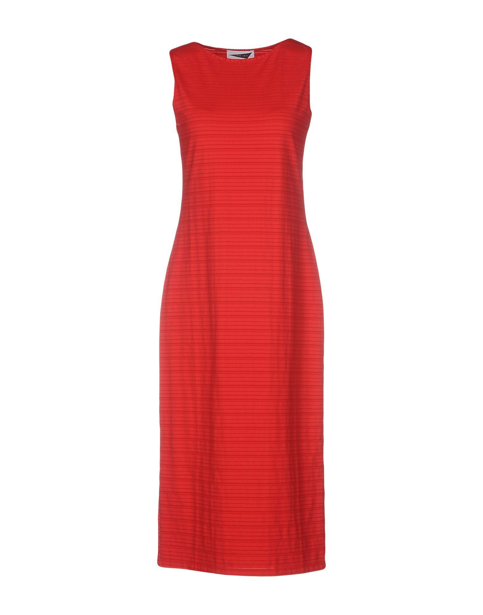 PRISM Платье до колена prism длинное платье