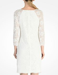 ARMANI EXCHANGE LACE SHEATH DRESS Mini dress D d