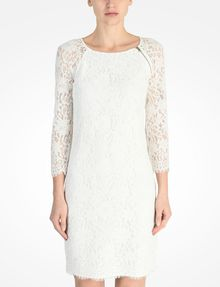 ARMANI EXCHANGE LACE SHEATH DRESS Mini dress D f