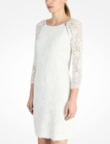 ARMANI EXCHANGE LACE SHEATH DRESS Mini dress D r