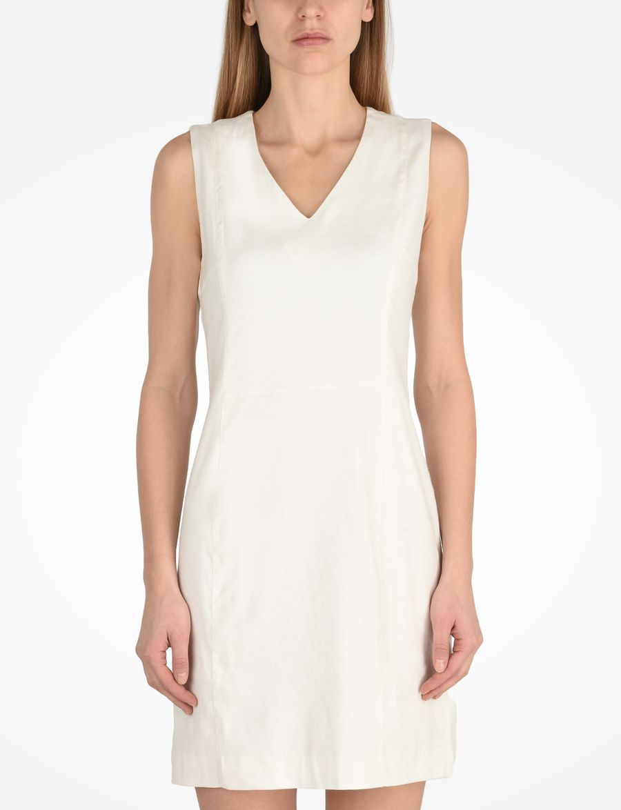 ba3d16c70c Armani Exchange SLEEK LINEN SHEATH DRESS