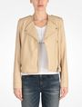 ARMANI EXCHANGE QUILTED MOTO JACKET PU Woman f