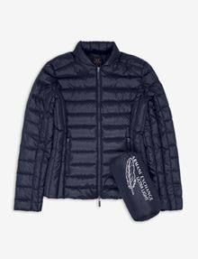 ARMANI EXCHANGE ULTRALIGHT SHAWL-COLLAR PUFFER JACKET PUFFER JACKET [*** pickupInStoreShipping_info ***] b