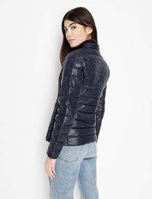 ARMANI EXCHANGE ULTRALIGHT SHAWL-COLLAR PUFFER JACKET PUFFER JACKET [*** pickupInStoreShipping_info ***] e