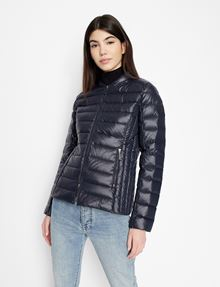 ARMANI EXCHANGE ULTRALIGHT SHAWL-COLLAR PUFFER JACKET PUFFER JACKET [*** pickupInStoreShipping_info ***] f