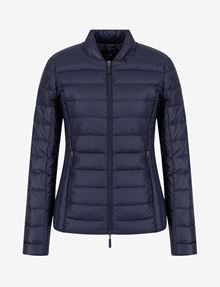 ARMANI EXCHANGE ULTRALIGHT SHAWL-COLLAR PUFFER JACKET PUFFER JACKET [*** pickupInStoreShipping_info ***] r