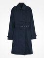 ARMANI EXCHANGE CLASSIC TRENCH COAT Coat Woman b