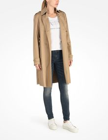 ARMANI EXCHANGE CLASSIC TRENCH Coat D a