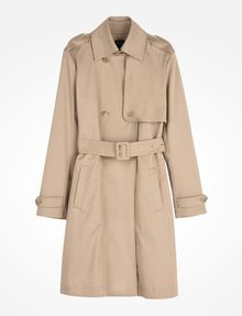 ARMANI EXCHANGE CLASSIC TRENCH COAT Coat D b