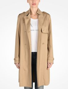 ARMANI EXCHANGE CLASSIC TRENCH COAT Coat Woman f