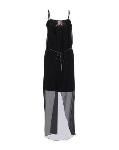 Фото - Платье до колена от KORALLINE черного цвета