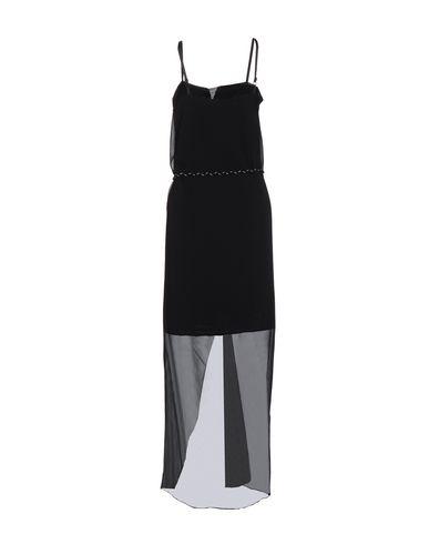 Фото 2 - Платье до колена от KORALLINE черного цвета