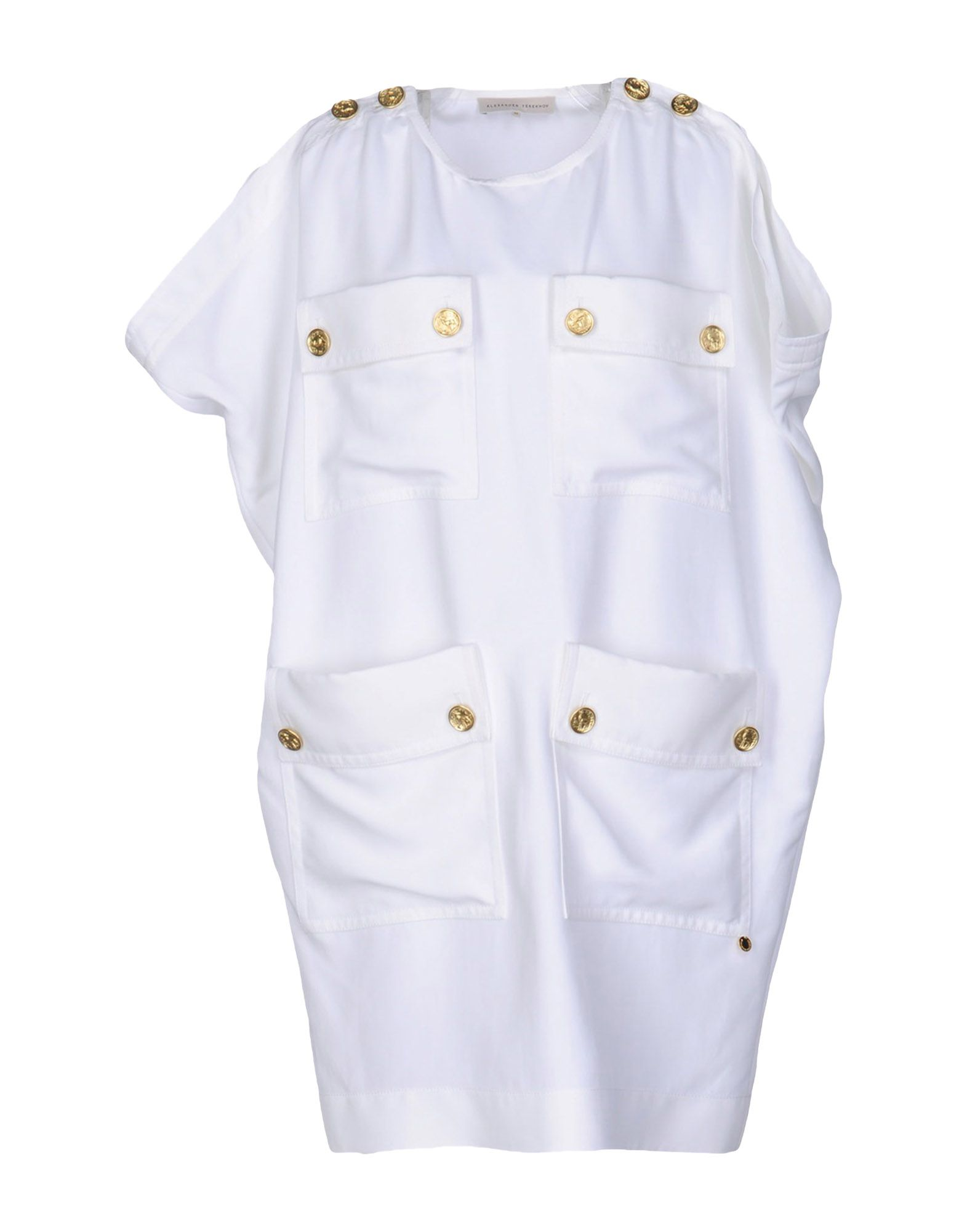 ALEXANDER TEREKHOV Короткое платье alexander terekhov приталенное платье мини