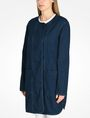 ARMANI EXCHANGE LONG INDIGO DENIM COAT Coat D d