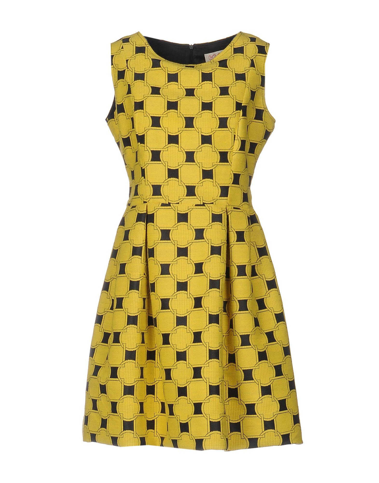 Фото EGGS Короткое платье. Купить с доставкой