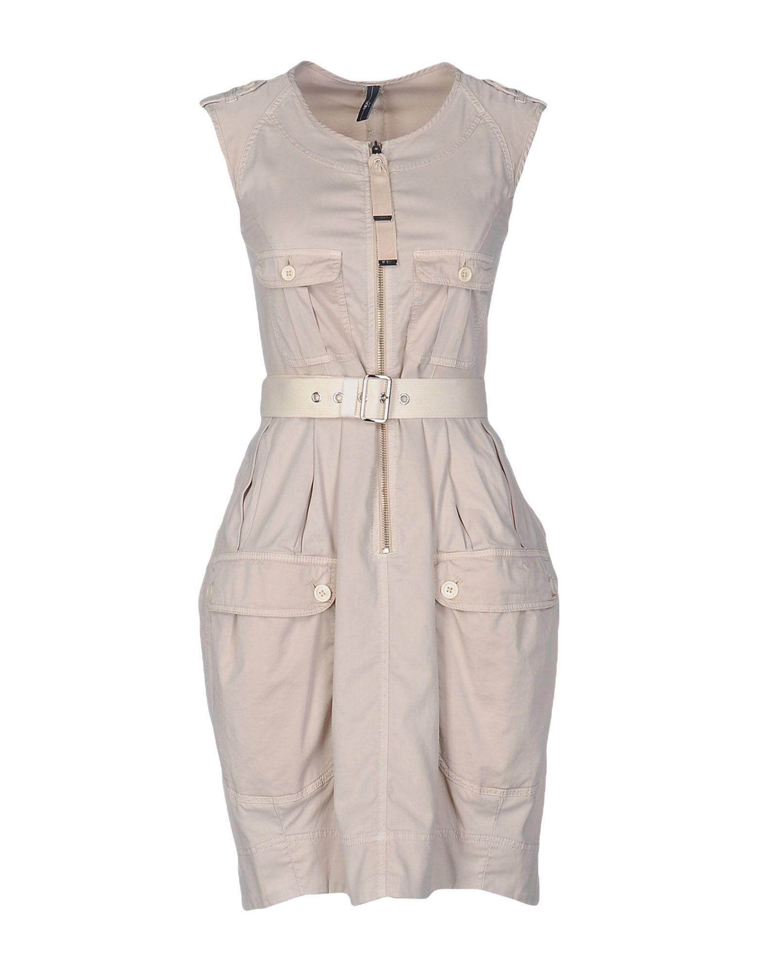 HIGH Short Dress in Neutrals